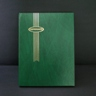 Supersafe 16 Black Page Stockbook, Green